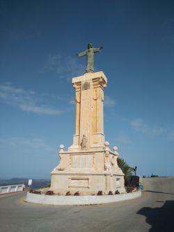 Cristo en Santuario Monte Toro