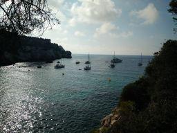 Vista Cala Macarella