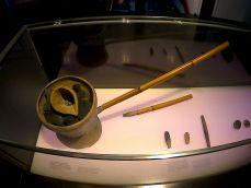 Fundición de oro artesanal precolombina