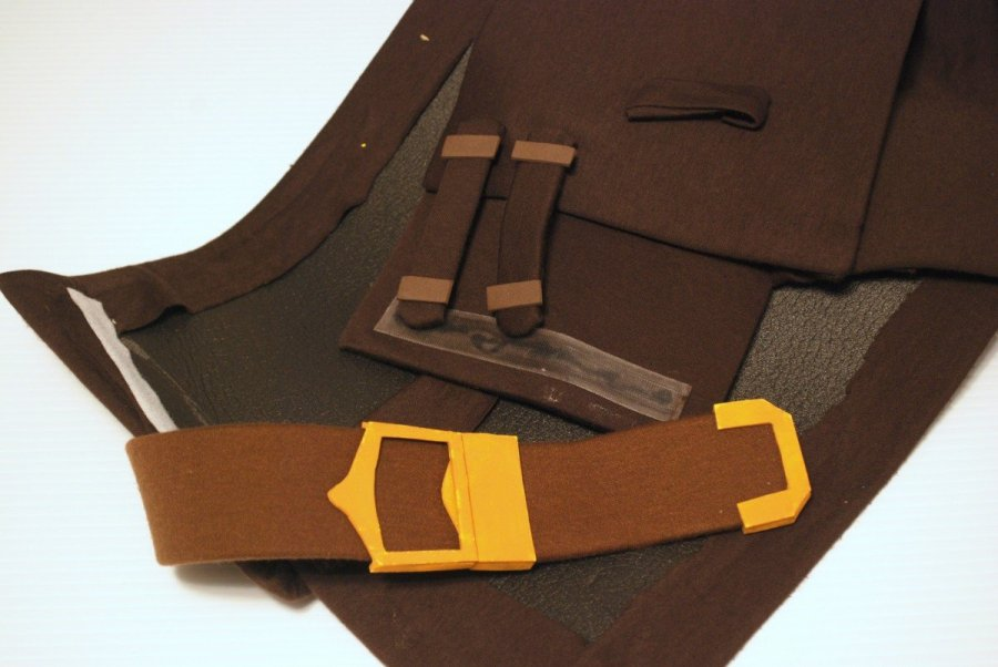 belt and chest pieces for ike cosplay