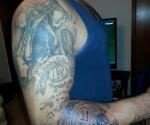 Washington Redskins Autographs Tattoo