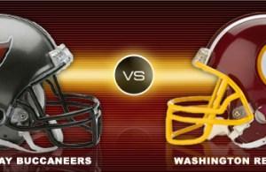 Washington Redskins Vs Tampa Bay Buccaneers Week 4