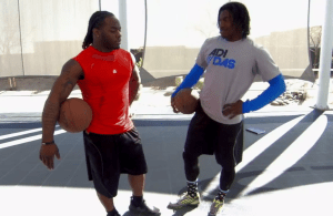 RG3 and Trent Richardson Play a Game of Horse