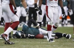 Mike Vick Likely to Miss Sunday's Game Against the Redskins