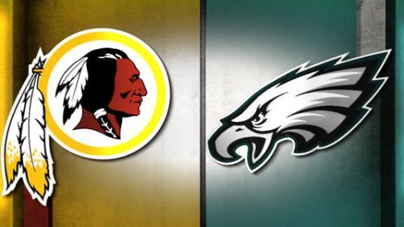Image result for Redskins vs. Eagles