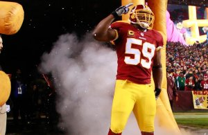 Redskins London Fletcher & Alfred Morris Named 2nd Team All-Pro