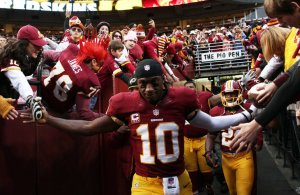 Dallas Cowboy Fan Set to Name Son After RG3