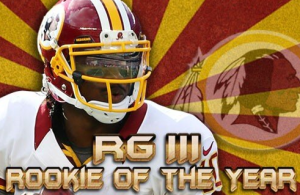 Robert Griffin III Wins NFL Rookie of the Year