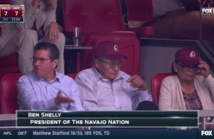 Daniel Snyder Watched the Cardinals Game With the President of Navajo Nation