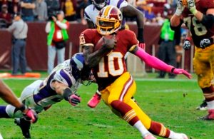 RGIII Will Start Against Vikings