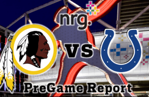 NRG Energy Pre-Game Report - Redskins vs Colts Week 13