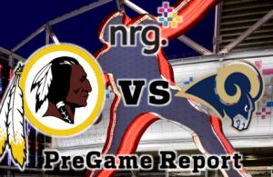 NRG Energy Pre-Game Report - Redskins vs Rams Week 14