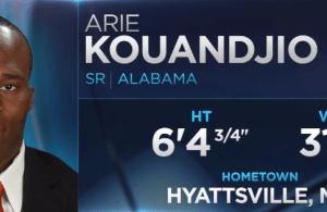 Washington Redskins Select G Arie Kouandjio With the 112th Pick (2015 NFL Draft)