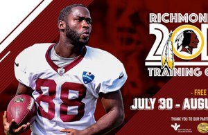 Redskins Will Have Ticket Lottery for Texans Training Camp Visit
