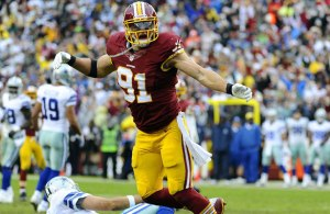 Redskins Sign Ryan Kerrigan to Long-Term Deal