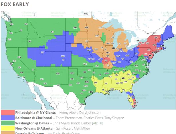 Redskins vs Cowboys Week 17