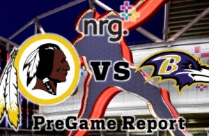 NRG Energy Pre-Game Report - Redskins vs Ravens Week 5