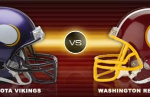 NRG Energy Pre-Game Report - Redskins vs Vikings Week 10