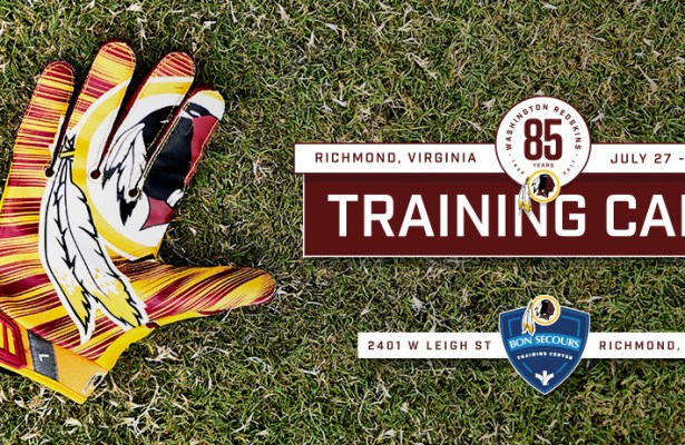 Washington Redskins Training Camp Will Start on July 27