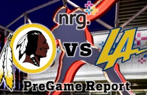 Redskins vs Chargers Week 14