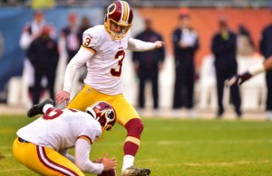 Redskins re-sign kicker Dustin Hopkins to three-year deal