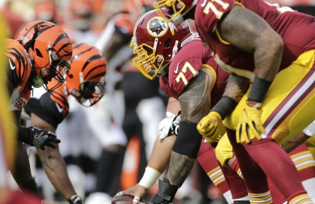 Redskins re-sign Shawn Lauvao, still have long-term questions at left guard
