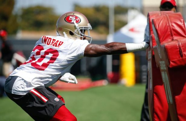 Redskins sign Prince Charles Iworah, release Keith Marshall
