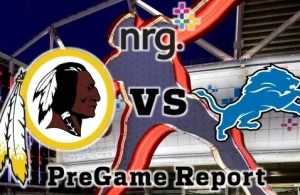 redskins vs lions week 12