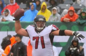 Redskins Sign Former Falcons Guard Wes Schweitzer