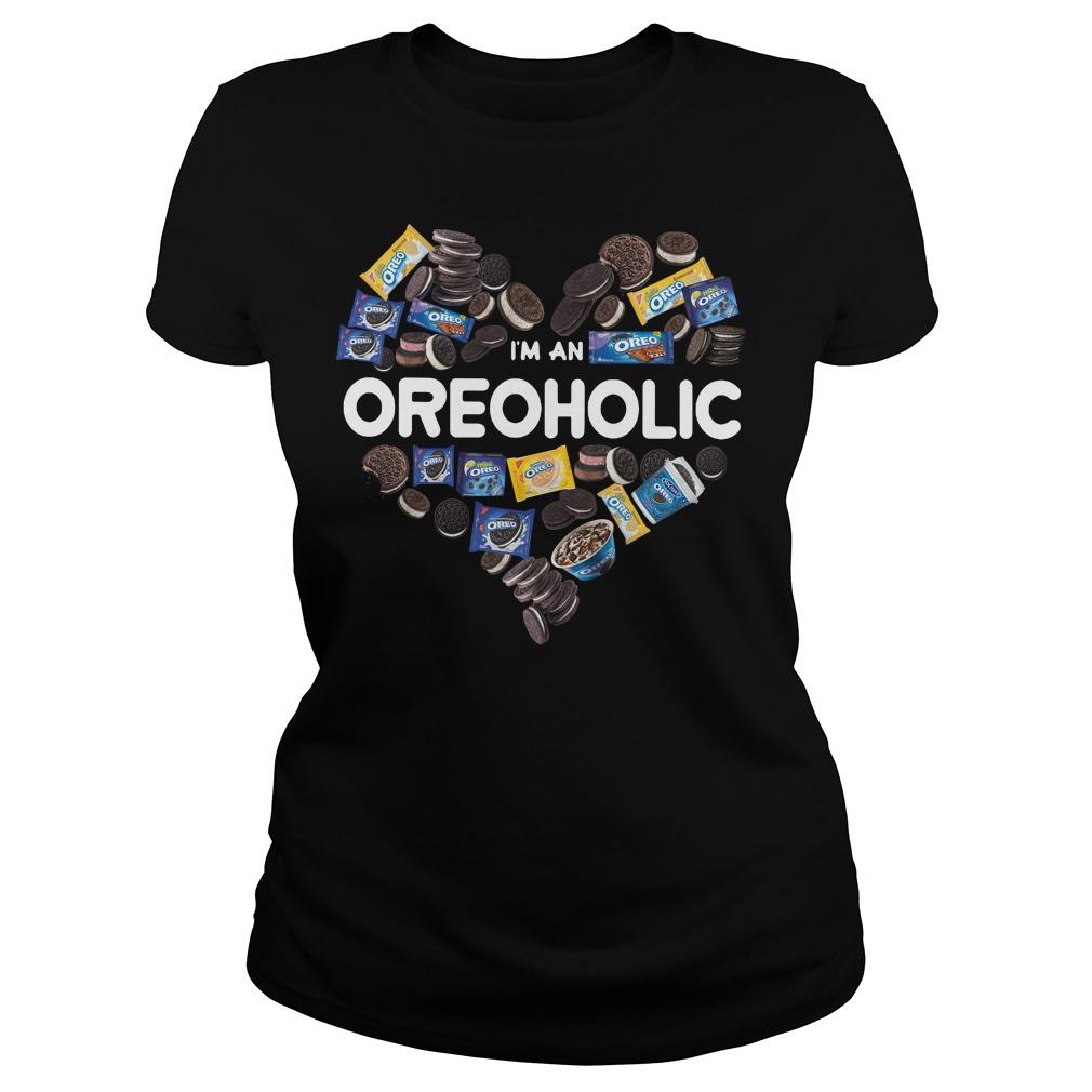 I'm an Oreoholic – Oreo Holic Ladies tee