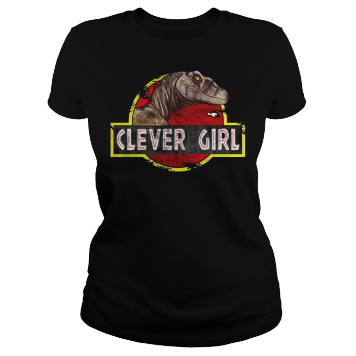 Jurassic World Clever Girl Ladies tee