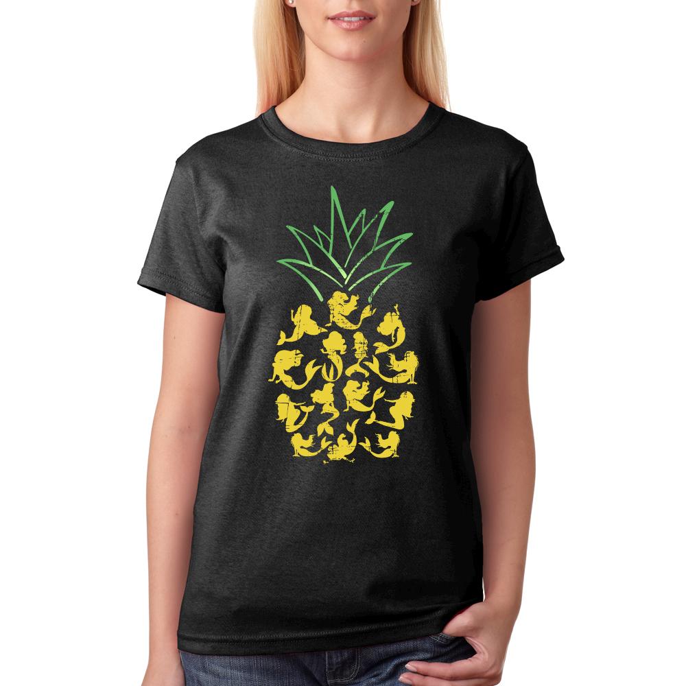Mermaid pineapple shirt