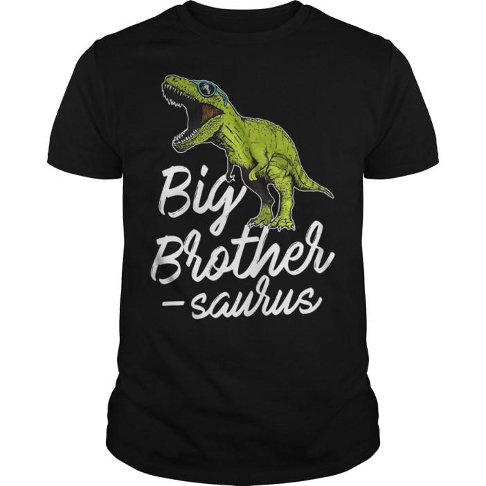 Big Brother Saurus T rex Guys shirt