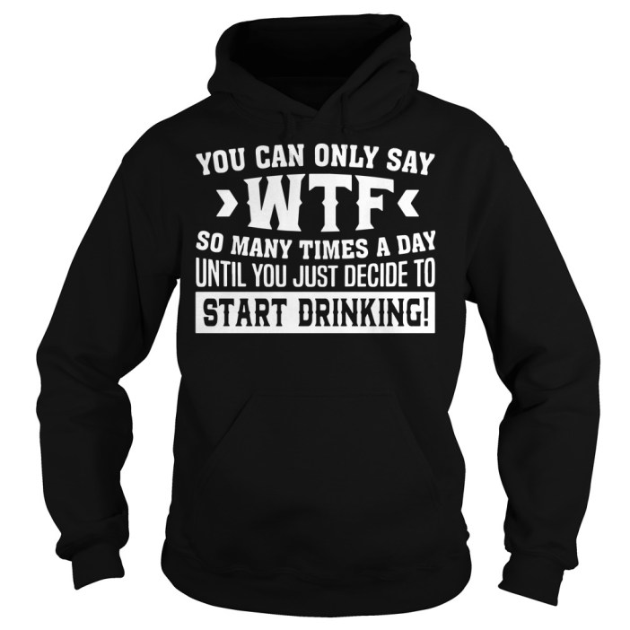 You can only say WTF so many times a day until you just decide to Hoodie