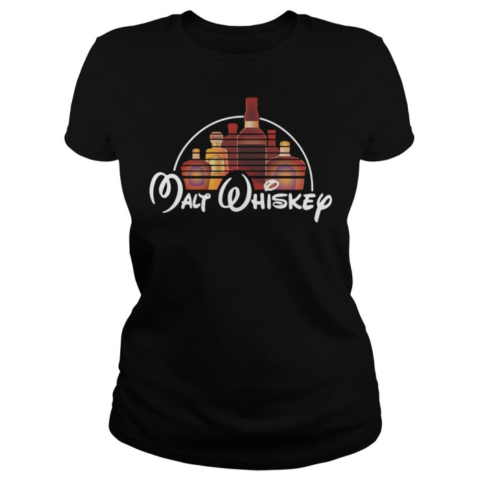 Malt whiskey Disney Ladies tee