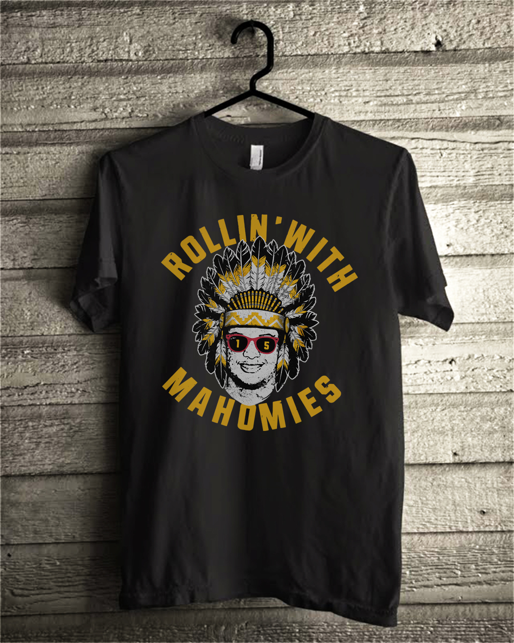 Rollin' With Mahomies Patrick Mahomes Chiefs Inspired shirt