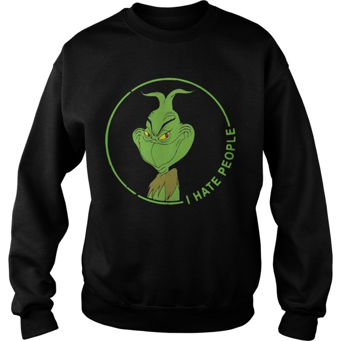 I hate people The Grinch Sweater