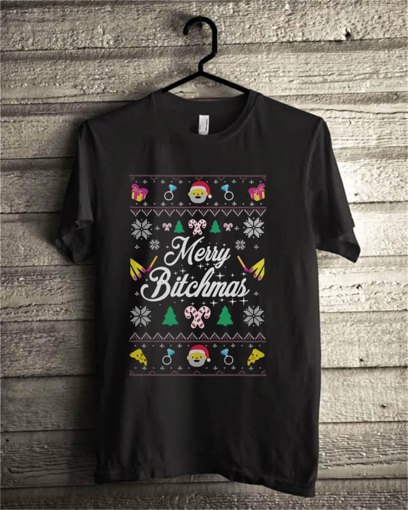 Merry Bitchmas Ugly Christmas shirt