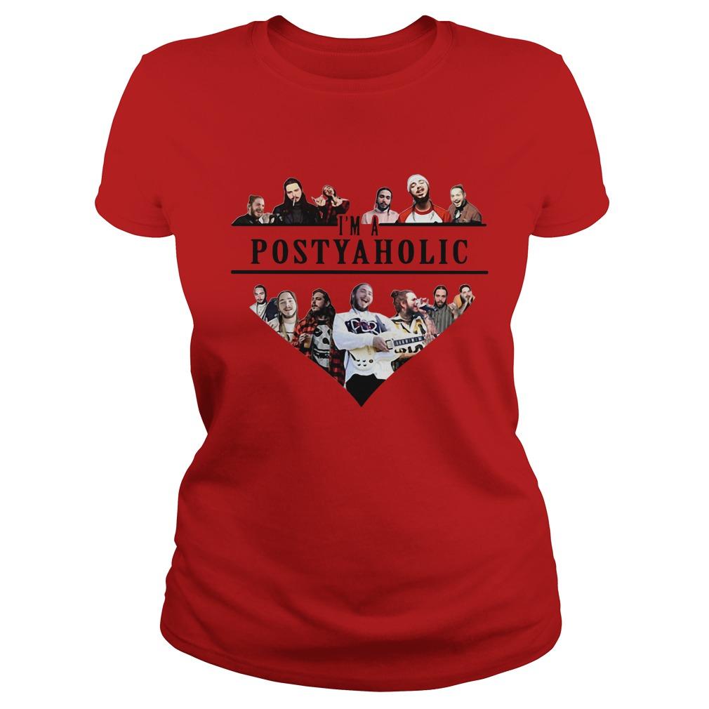 Post Malone I'm A Posty Aholic Shirt, Hoodie, Sweater And