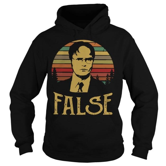 Dwight Schrute false vintage Hoodie