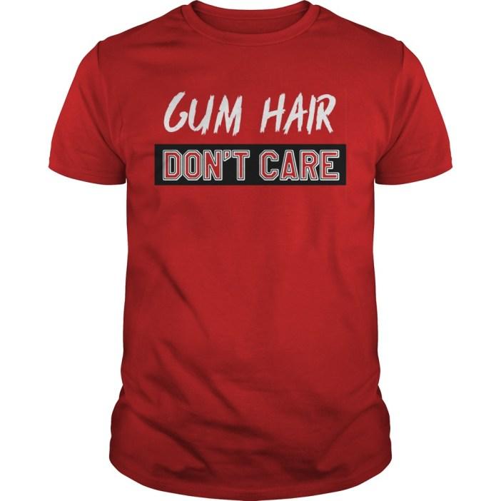 Gym hair don't care Guys shirt