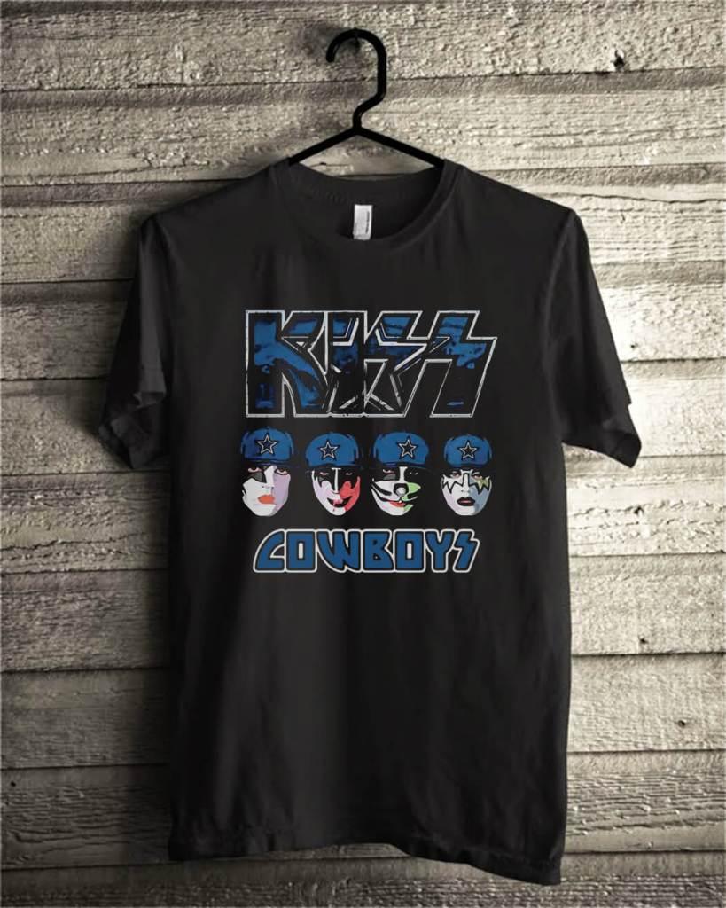 Kiss Hotter than Hell Dallas Cowboys shirt