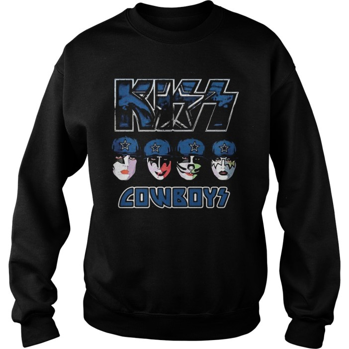 Kiss Hotter than Hell Dallas Cowboys Sweater