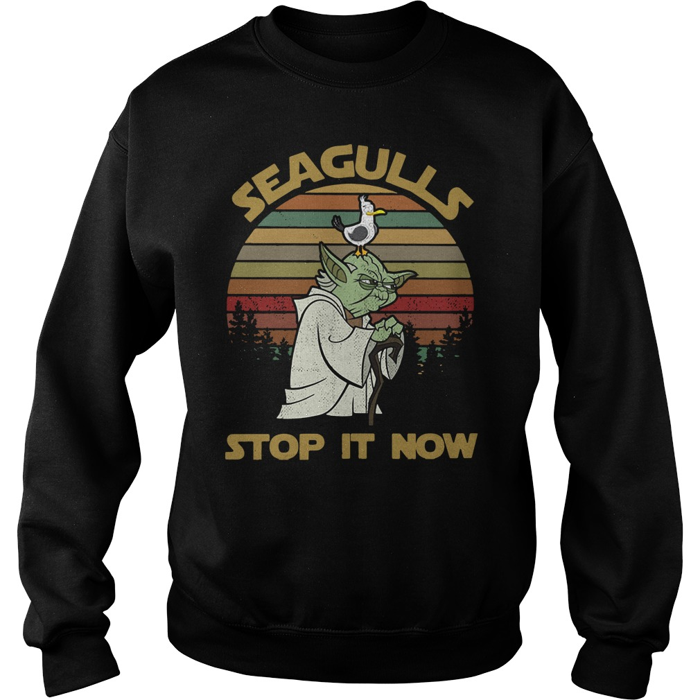Seaguls stop it now Sweater