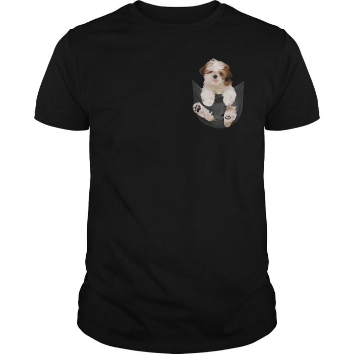 Shih Tzu in your Pocket Guys shirt