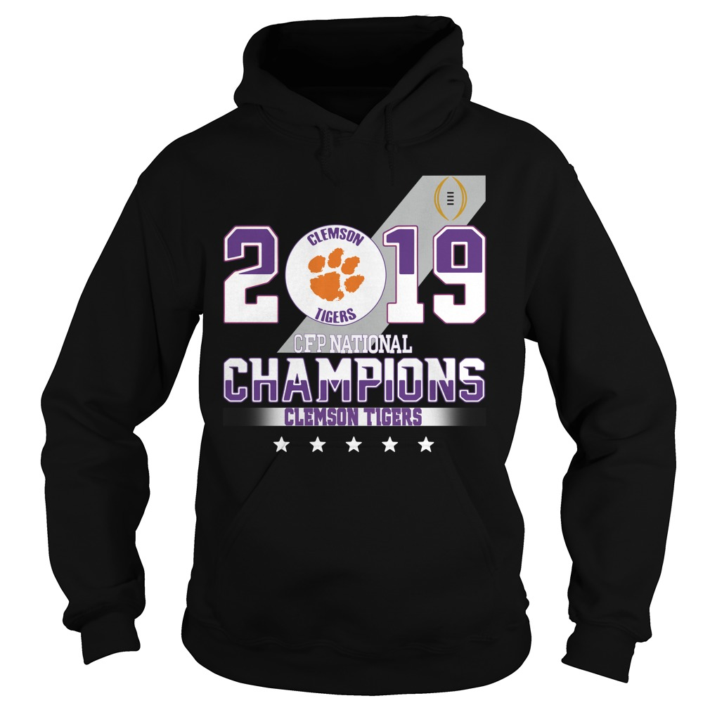 2019 Clemson Tigers CFP national champions Clemson Tigers Hoodie