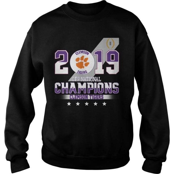 2019 Clemson Tigers CFP national champions Clemson Tigers Sweater