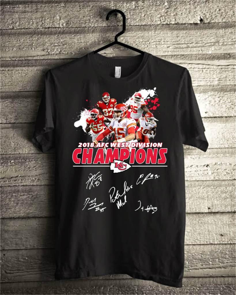 171c702c Kansas City Chiefs 2018 AFC west division champions shirt, hoodie