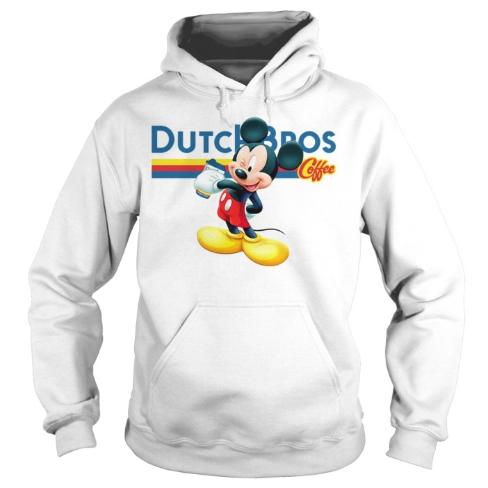 Official Mickey Mouse drink Dutch Bros Coffee hoodie