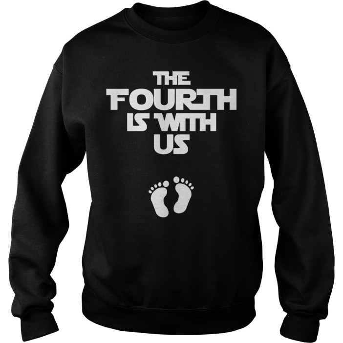 The fourth is with us sweater